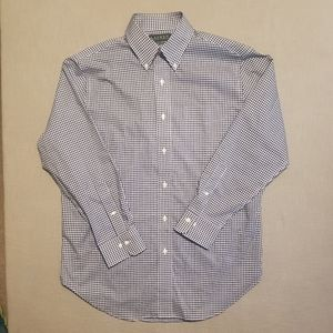 Ralph Lauren 100% Cotton  Non Iron Shirt